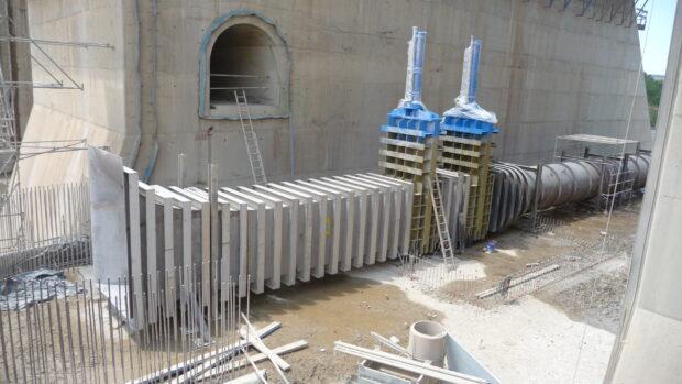 PRESA DE CASTROVIDO.  – FCC CONSTRUCCION