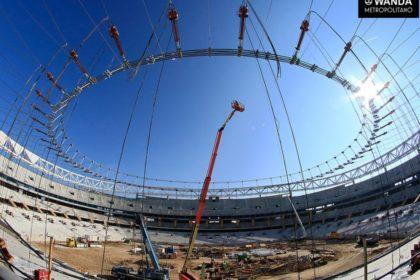 Wanda Metropolitano. Madrid.  (TAIYO EUROPE)